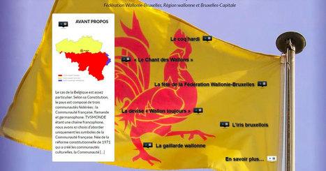 Symboles et emblèmes de la communauté française de Belgique   TICE et langues   Scoop.it