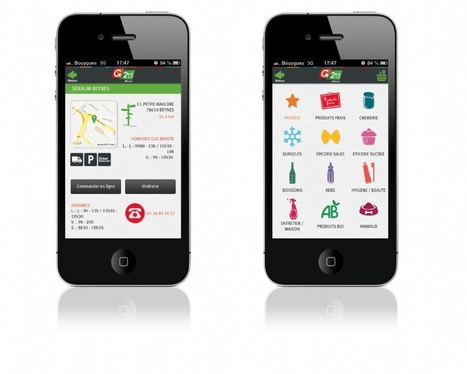 Les supermarchés G20 inaugurent une application mobile en 3D | Mobile & Magasins | Scoop.it