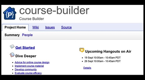 "Google Releases ""Course Builder,"" an Open Source Platform for Building Your Own Big Online Courses 