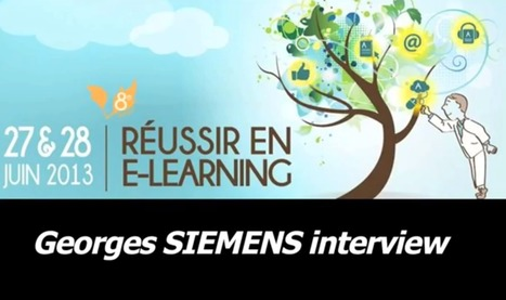Connectivisme, xMOOC, cMOOC... Interview vidéo de Georges Siemens | altar dit alter sandrine | Scoop.it