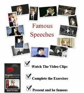 Famous Speeches | Teaching English as a foreign language | Scoop.it