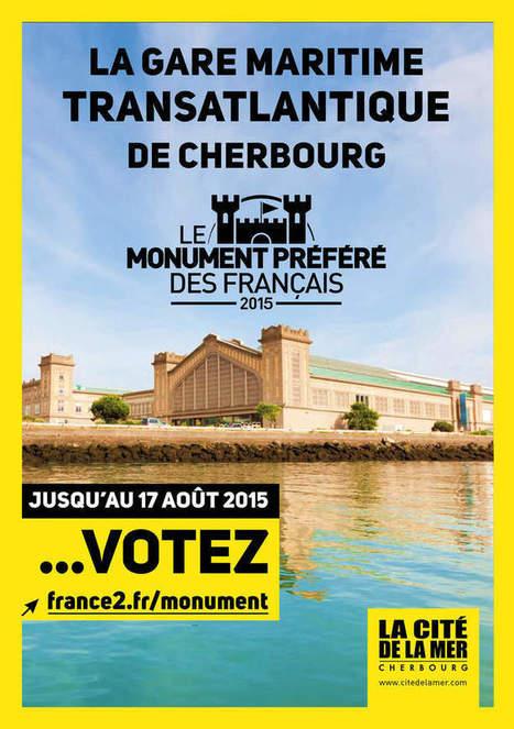 #Manche: Soutenez la Gare Maritime pour être élue monument préféré des français ! #GMTCherbourg - Cotentin webradio actu buzz jeux video musique electro  webradio en live ! | Les news en normandie avec Cotentin-webradio | Scoop.it