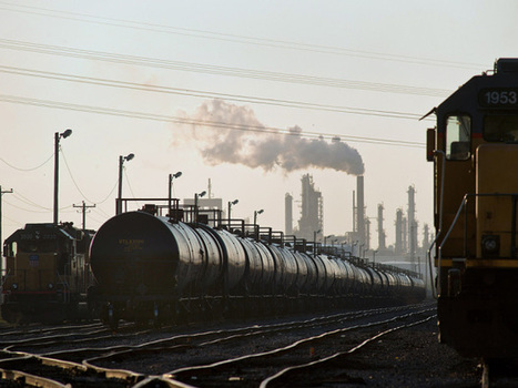 Oil sands rail terminal to be built by Gibson, logistics company as ... | Alberta TarSands | Scoop.it