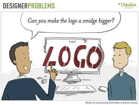 Designers' Problems Illustrated In Funny Comics | El Mundo del Diseño Gráfico | Scoop.it
