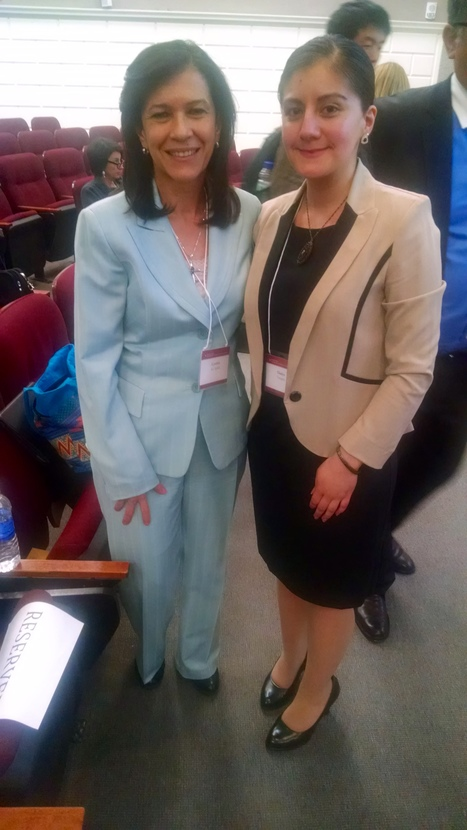 Gladys Vásquez at Harvard University with the Minister of Education of Guatemala | The UMass Amherst Spanish & Portuguese Program Newsletter | Scoop.it