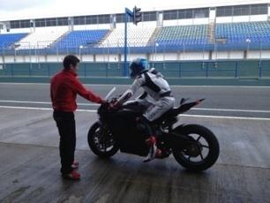 Alstare Ducati test hampered by rain    Crash.Net   Ductalk Ducati News   Scoop.it