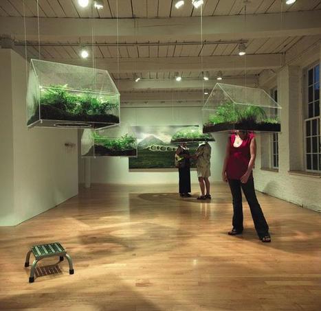 "Vaughn Bell: ""Green Village"" | Art Installations, Sculpture, Contemporary Art | Scoop.it"