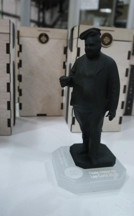 Escaneo,modelado y impresión3D de estatua   Big and Open Data, FabLab, Internet of things   Scoop.it