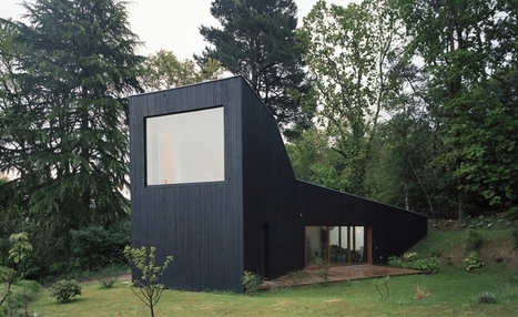 [maison du jour] Atypique maison bois contemporaine dominant le Golfe du Morbihan, France | Le flux d'Infogreen.lu | Scoop.it