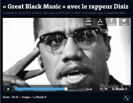«Great Black Music » avec le rappeur Disiz | Evolution et développement | Scoop.it