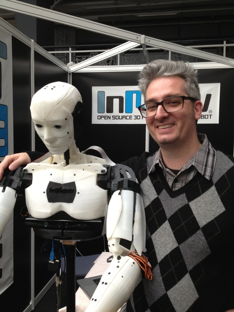 InMoov » open-source 3D printed life-size robot | hobby robotics | Scoop.it