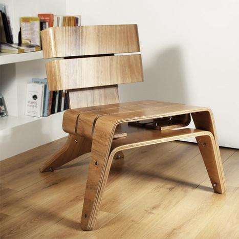 Eira Chair by Oitenta » Yanko Design   Céka décore   Scoop.it