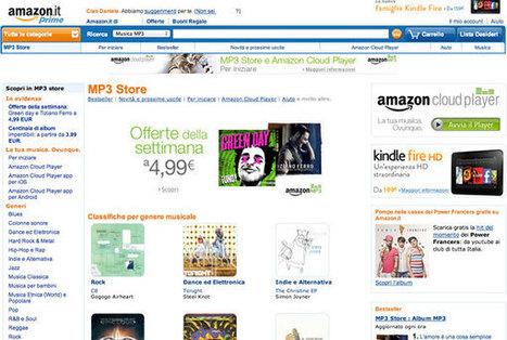 Amazon lancia il negozio di musica digitale MP3 Store e Cloud Player in Italia   Teaching and Learning English through Technology   Scoop.it