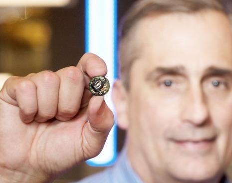 Intel lance la puce Curie pour les Wearables au CES   Transformation numérique   Scoop.it