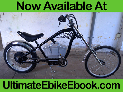 Learn How to Build Your Own Electric Bicycle - The Hardcover | Heron | Scoop.it