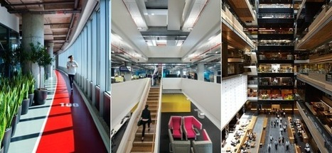 Inside the 13 Coolest Offices of the Year | Weiterbildung | Scoop.it