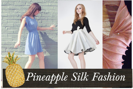 Do you like Piña Coladas? How about Pineapple Silk? | Chic Sustainable Fashion | Scoop.it