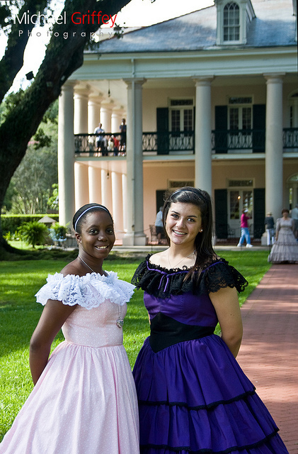 Southern Belles | Oak Alley Plantation: Things to see! | Scoop.it