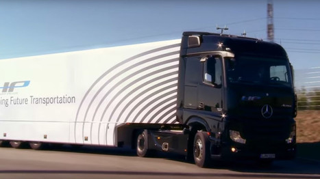 Self-driving Mercedes robot-truck debuts on German autobahn (VIDEO) — RT News | ICT | Scoop.it