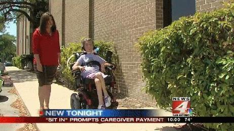 Disabled woman stands up for caregiver - WOAI | Caregiver | Scoop.it