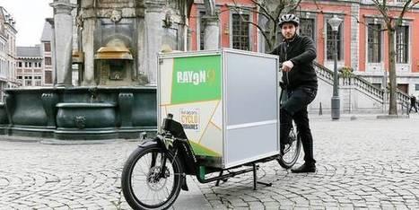 Rayon9: les livraisons à vélo, c'est leur rayon | Notre revue de presse | Scoop.it