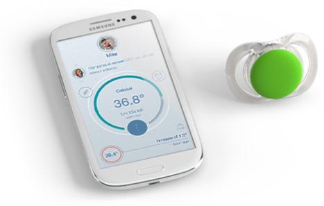 Pacif-i, la première tétine thermomètre connectée !   #Grossesse Umanlife   Scoop.it