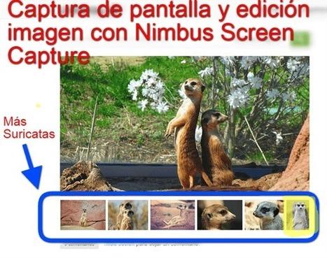 Cómo capturar la pantalla y editar la imagen con Nimbus Screen Capture | Educación e innovación | Scoop.it