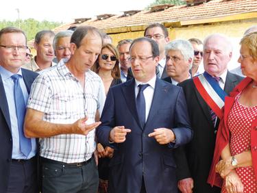 François Hollande en visite en Dordogne | Agriculture en Dordogne | Scoop.it