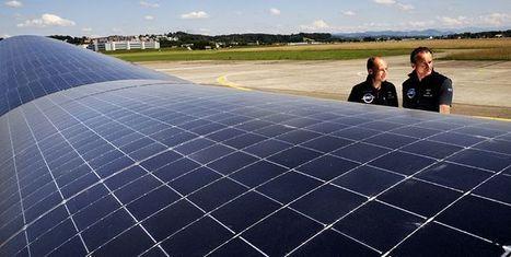 Solar-powered plane makes successful test flight | Ecoeficiencia | Scoop.it