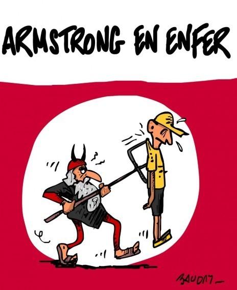La déchéance de Lance Armstrong | Baie d'humour | Scoop.it