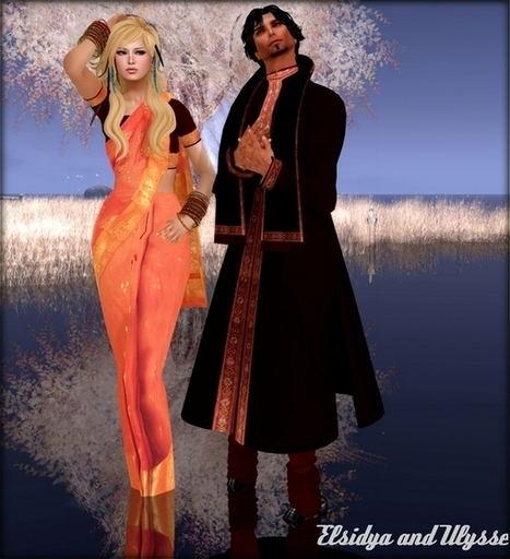 Freebies and cheapies in SL: The travellers...Les voyageurs | Free Stuff in Second Life | Scoop.it