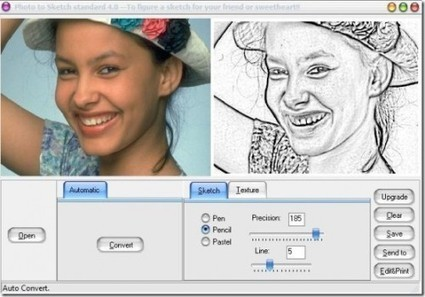 Convertir des photos en dessin : Photo To Sketch | ridick | Scoop.it