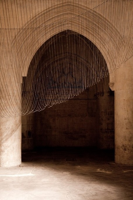 A levitating sound sculpture made of 300 wires's Caten | The Architecture of the City | Scoop.it