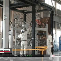 Japan's Eco Cycle Stows Bikes in a Quake-Proof Underground Storage Cylinder | Active Commuting | Scoop.it
