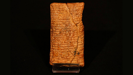 This ancient tablet says Noah's Ark was round | Strange days indeed... | Scoop.it