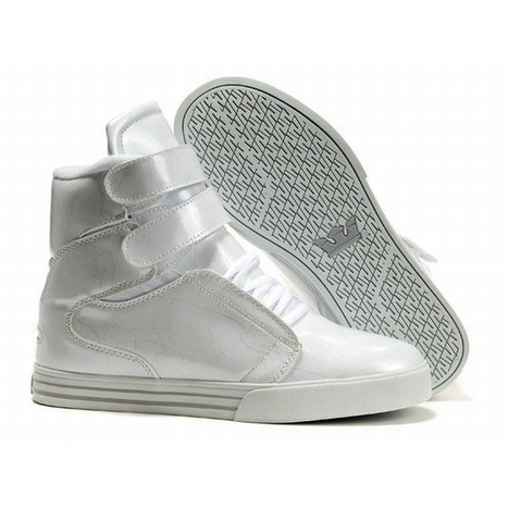 Whole White Supras High Sneaker Tk Society Men | new and popular list | Scoop.it