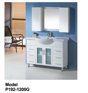 Rossto Vanities - Buy Glass Door Vanity P192-1200G P192-1200G at $518.00 Online | Custom Made Kitchens Renovation & Designs | Scoop.it