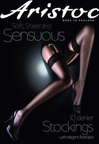Eleganta tunna stockings Sensuous 10 DEN från Aristoc | strumpbyxor boutique | Scoop.it