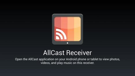 Ny app låter dig skicka media till annan Androidenhet med AllCast - Swedroid | Mobilt | Scoop.it