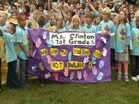 Loves Park students pledge to be a buddy, not a bully - WREX-TV | Bullying in Schools | Scoop.it