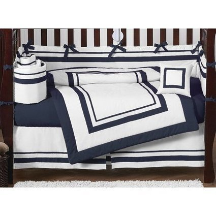 Navy Blue Crib Bedding | Bedroom Decor | Scoop.it