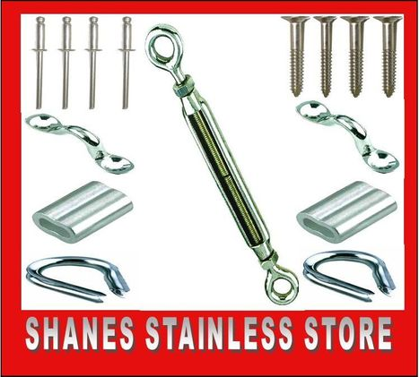 Stainless Steel Balustrading DIY Kits | Stainless steel hardware | Scoop.it
