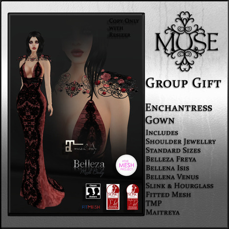 [MUSE] October Group Gift | 亗 Second Life Freebies Addiction & More 亗 | Scoop.it