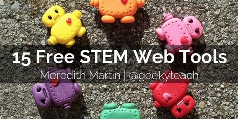 15 Free STEM Tools For Teachers & Students | Curriculum resource reviews | Scoop.it