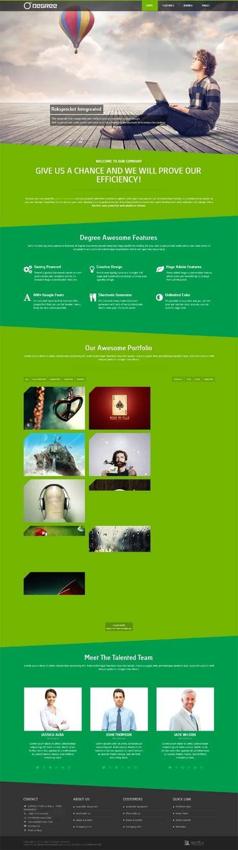 Degree, Joomla Retina Ready Creative Portfolio Template | Premium Download | Premium Joomla Templates Download | Scoop.it