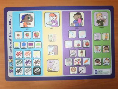 Cawn/Krantz's SENSE – Sational Place Mats « Individual Differences ... | Speech Language Pathology | Scoop.it