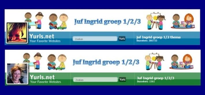 Edu-Curator: Yurls 'Juf Ingrid groep 1/2/3': barstens vol met thema's en nog veel meer..! | Educatief Internet - Gespot op 't Web | Scoop.it