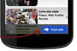 Google: two clicks a charm to eliminate accidental mobile ad visits | Digital-News on Scoop.it today | Scoop.it