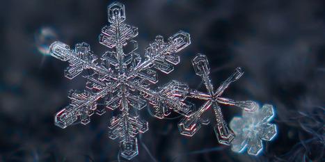 D'où vient la forme en étoile à six branches des flocons de neige?   En vrac   Scoop.it