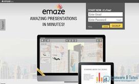 Emaze : un service en ligne gratuit pour créer facilement des présentations et remplacer PowerPoint | SPIP - cms, javascripts et copyleft | Scoop.it